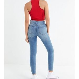 Urban Outfitters BDG Blue Skinny Jeans
